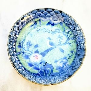 #1445 Japan Eurocraft Small Rice Bowl Blue